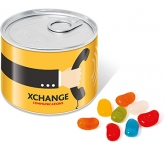 Mini Ring Pull Sweet Tins - Jelly Beans  by Gopromotional - we get your brand noticed!