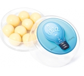 Maxi Round Sweet Pots - White Chocolate Malt Balls