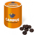 Money Box Sweet Tins - Chocolate Jesters  by Gopromotional - we get your brand noticed!