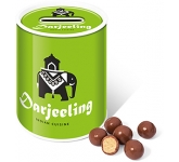 Money Box Sweet Tins - Milk Chocolate Malt Balls