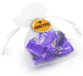 Organza Bags - Cadbury Chunks  by Gopromotional - we get your brand noticed!