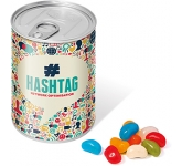 Ring Pull Sweet Tins - Jelly Beans  by Gopromotional - we get your brand noticed!