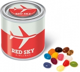 Small Sweet Paint Tins - Gourmet Jelly Beans  by Gopromotional - we get your brand noticed!