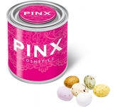 Small Sweet Paint Tins - Speckled Chocolate Eggs  by Gopromotional - we get your brand noticed!