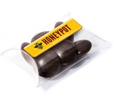 Small Sweet Pouches - Chocolate Jesters  by Gopromotional - we get your brand noticed!