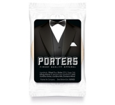 Snack Treat Bags - 1 x Mini Shortbread Biscuit  by Gopromotional - we get your brand noticed!