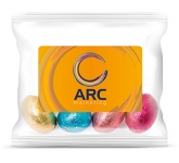 Sweet Treat Bags - Chocolate Foil Wrapped Eggs - 20g  by Gopromotional - we get your brand noticed!