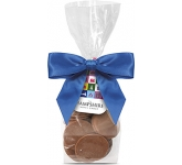 Swing Tag Sweet Bags - Milk Chocolate Buttons