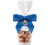 Swing Tag Sweet Bags - Milk Chocolate Malt Balls