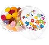 Maxi Round Sweet Pots - Jelly Beans  by Gopromotional - we get your brand noticed!