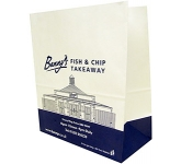 Cocoa 13 x 16 Pharmacy Paper Bag