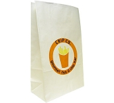 Cocoa 6 x 12 Pharmacy Paper Bag