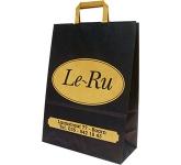 Elm A3 Tape Handled Kraft Paper Bag  by Gopromotional - we get your brand noticed!