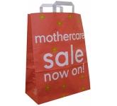Elm Large Portrait Tape Handled Kraft Paper Bag  by Gopromotional - we get your brand noticed!