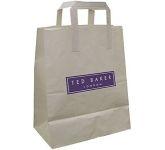 Fir A3 External Tape Handled Kraft Paper Bag  by Gopromotional - we get your brand noticed!
