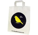 Fir A4 External Tape Handled Kraft Paper Bag  by Gopromotional - we get your brand noticed!