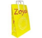 Fir Oversized A5 External Tape Handled Kraft Paper Bag  by Gopromotional - we get your brand noticed!
