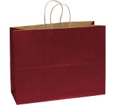 Holly A3 Coloured Twist Handled Kraft Paper Bag  by Gopromotional - we get your brand noticed!