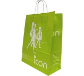Holly A3 Twist Handled Kraft Paper Bag  by Gopromotional - we get your brand noticed!