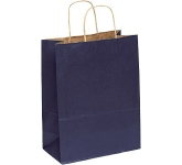 Holly A4 Coloured Twist Handled Kraft Paper Bag  by Gopromotional - we get your brand noticed!