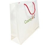 Oak Supreme Rope Handled Paper Bag  by Gopromotional - we get your brand noticed!