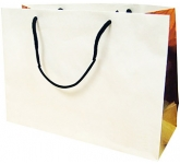 Redwood Premium Rope Handled Paper Bag  by Gopromotional - we get your brand noticed!