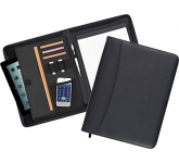 Wessex Tablet Zipped Conference Folder  by Gopromotional - we get your brand noticed!