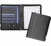 Tewksbury Zipped Leather Folder  by Gopromotional - we get your brand noticed!
