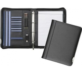 Tewksbury Leather Conference Ring Binder  by Gopromotional - we get your brand noticed!