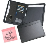 Wessex Zipped Conference Folder  by Gopromotional - we get your brand noticed!