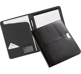 Lichfield Branded Leather Folder  by Gopromotional - we get your brand noticed!