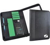 Rutland Zipped Calculator Conference Folder  by Gopromotional - we get your brand noticed!