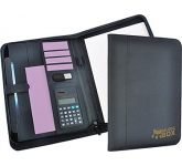 Surrey Zipped Calculator Conference Folder  by Gopromotional - we get your brand noticed!