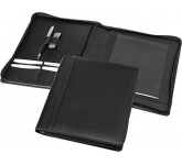 Harvard A5 Zipped Leather Folder  by Gopromotional - we get your brand noticed!