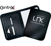 Detroit Zipped Conference Folder  by Gopromotional - we get your brand noticed!