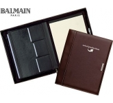 Balmain Millau Zipped Conference Folder