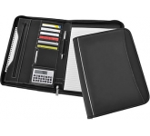 Zetec Zipped Conference Folder  by Gopromotional - we get your brand noticed!