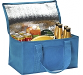 Summer Fresh 12 Can Foldable Cooler Bag  by Gopromotional - we get your brand noticed!