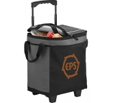 Sportsline 32 Can Rolling Cooler  by Gopromotional - we get your brand noticed!