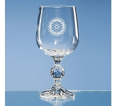 Claudia Lead Crystal Wine Glass  by Gopromotional - we get your brand noticed!