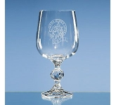 Claudia Large Lead Crystal Goblet