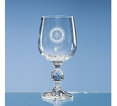 Claudia Lead  Crystal Goblet  by Gopromotional - we get your brand noticed!