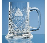 Large Straight Sided Panel Tankard