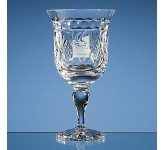 Shire Lead  Crystal Goblet