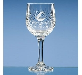 Gallery Lead Crystal Panel Goblet  by Gopromotional - we get your brand noticed!
