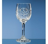 Gallery Lead Crystal Panel Red Wine Glass  by Gopromotional - we get your brand noticed!