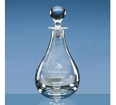 Crystal Teardrop Decanter