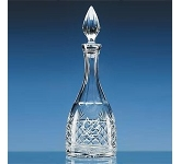 3/4 Ltr Lead Crystal Panel Wine Decanter  by Gopromotional - we get your brand noticed!