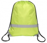 Knockholt Reflective Drawstring Bag  by Gopromotional - we get your brand noticed!