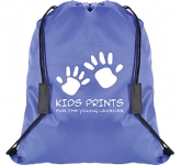 Safety Break Drawstring Bag  by Gopromotional - we get your brand noticed!